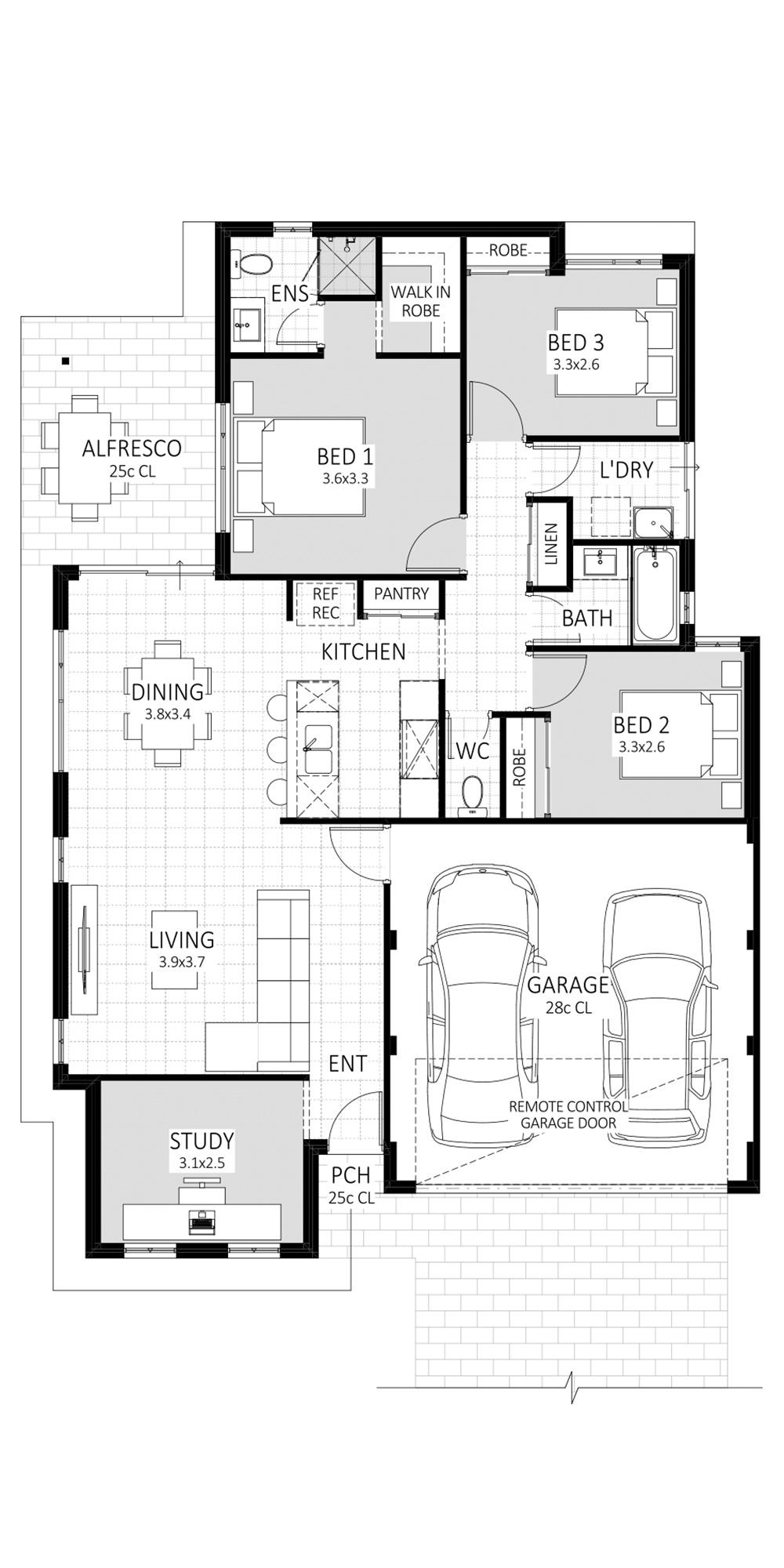 Aspire floorplan