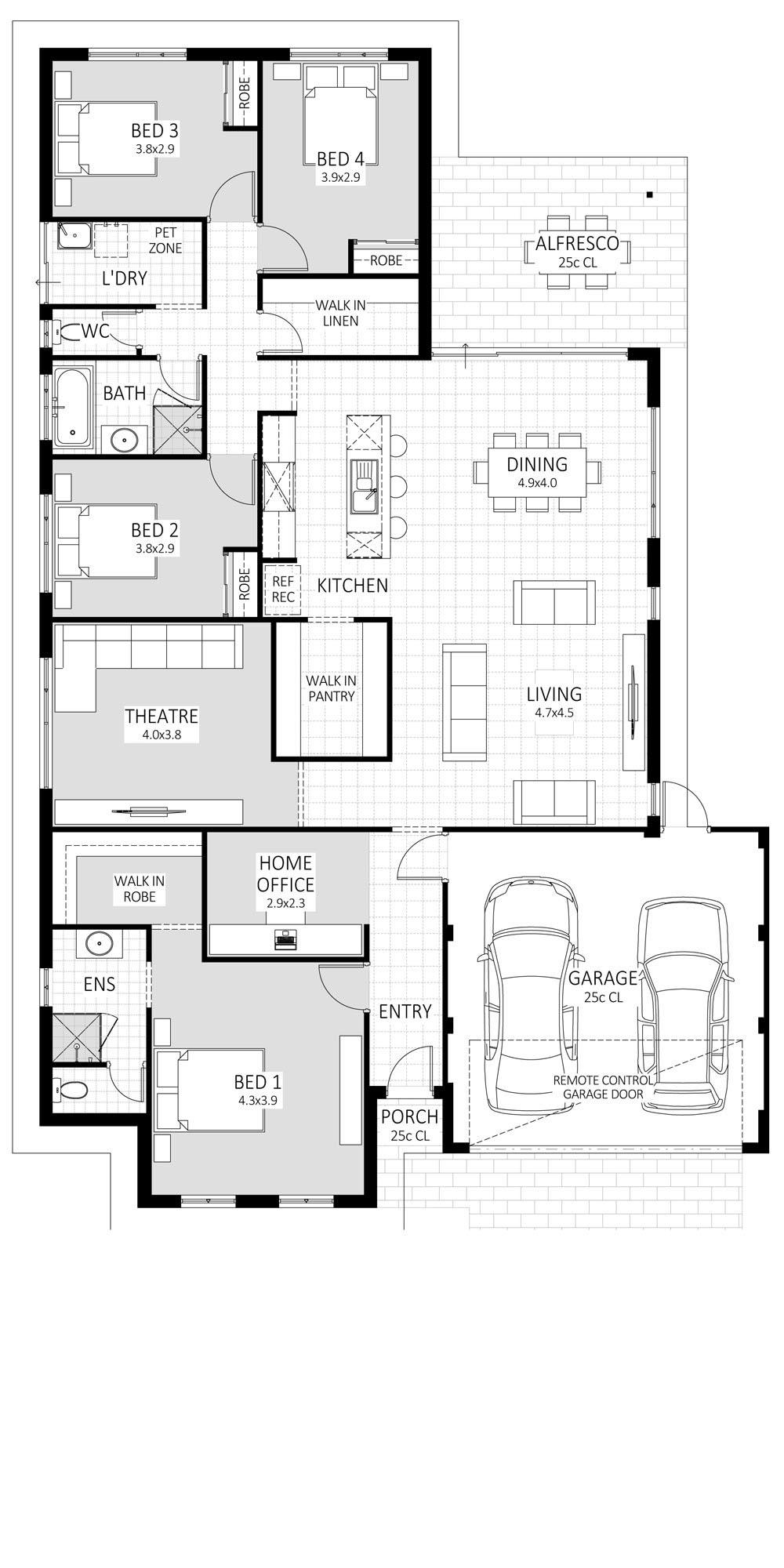 Cosmo floorplan