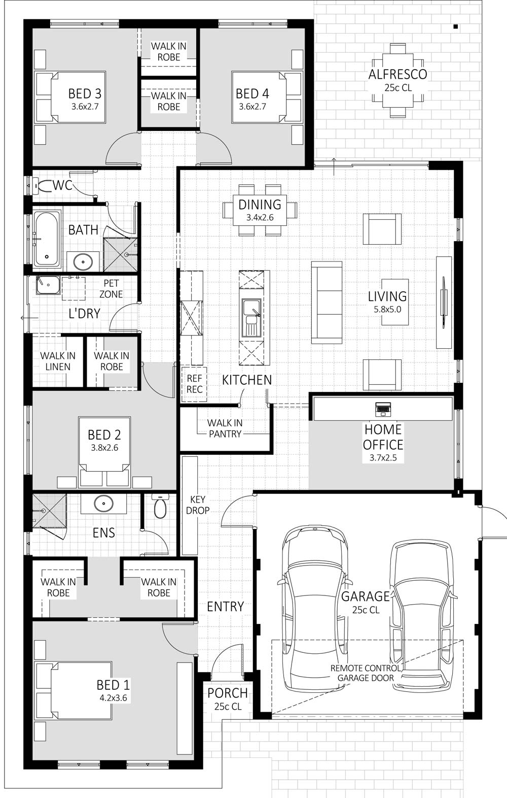 Essence floorplan