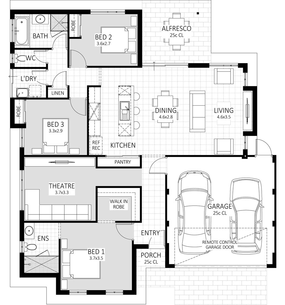 Galaxy floorplan