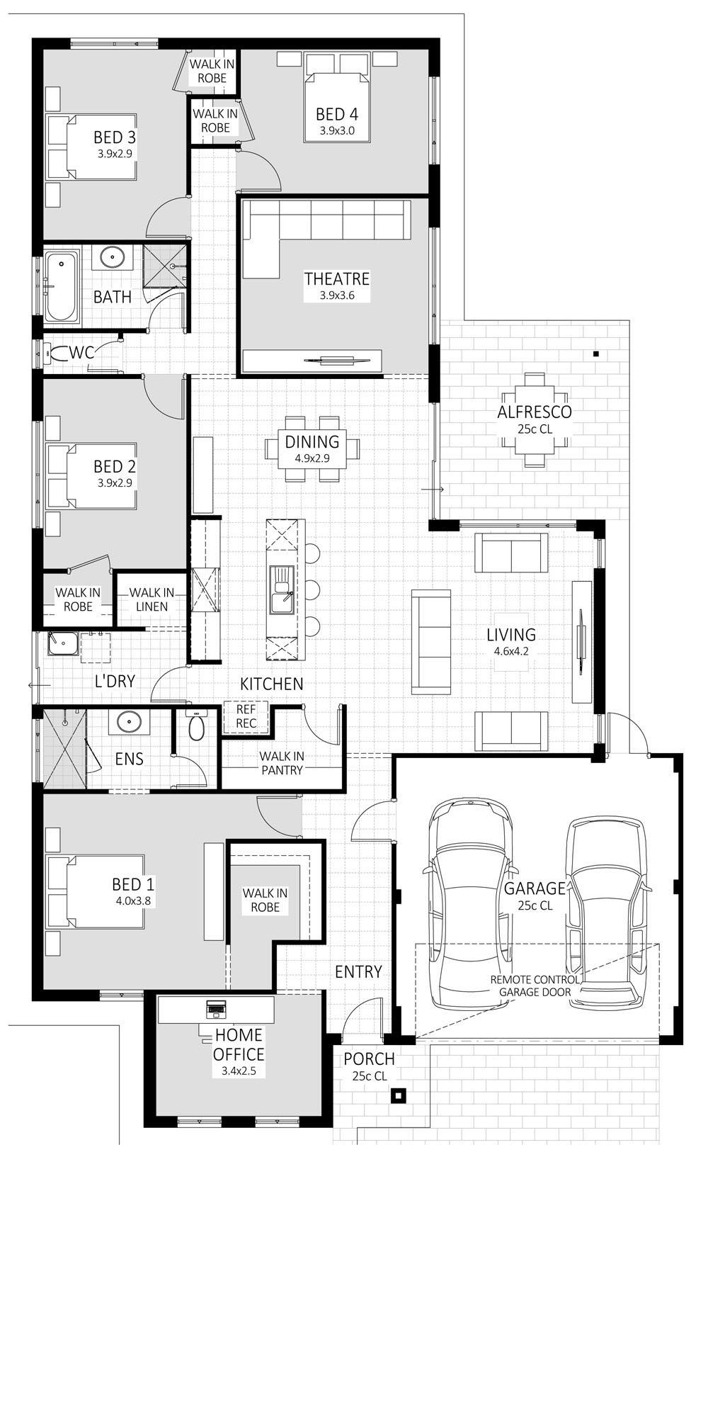 Oracle floorplan
