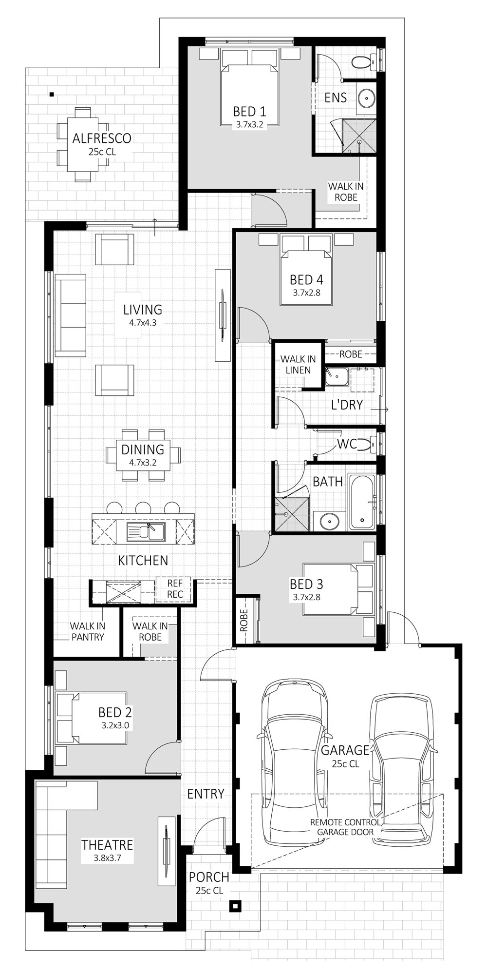 Prodigy floorplan