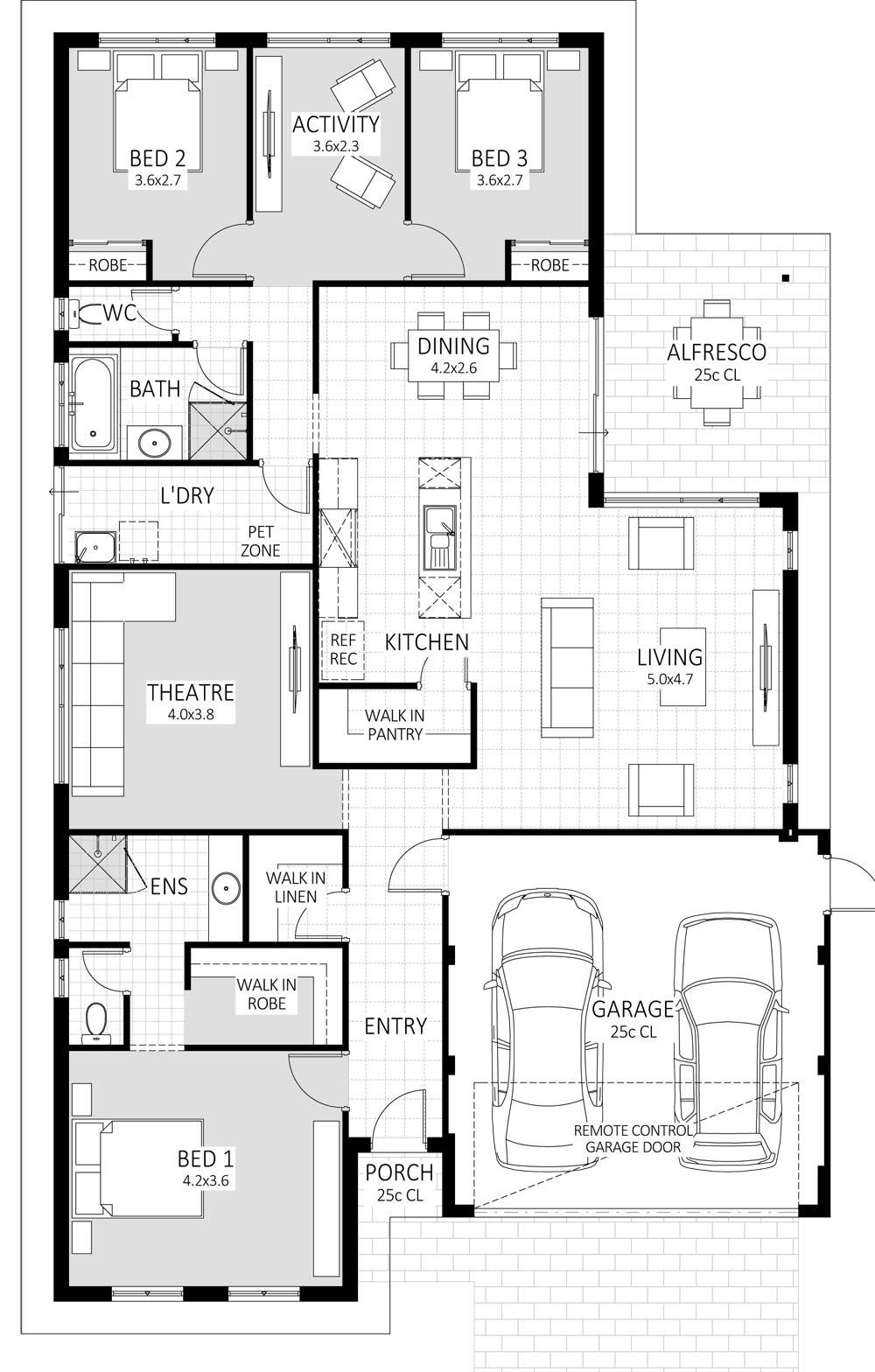 Royale floorplan