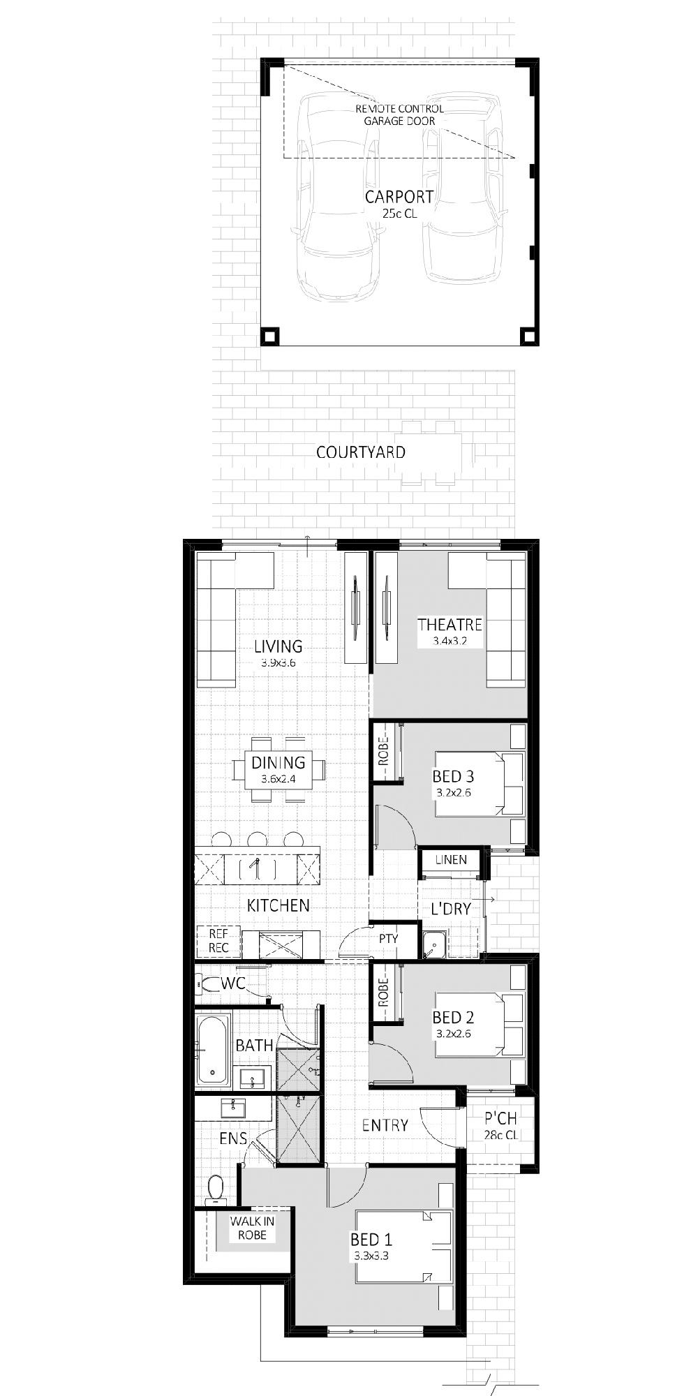 Innovator floorplan