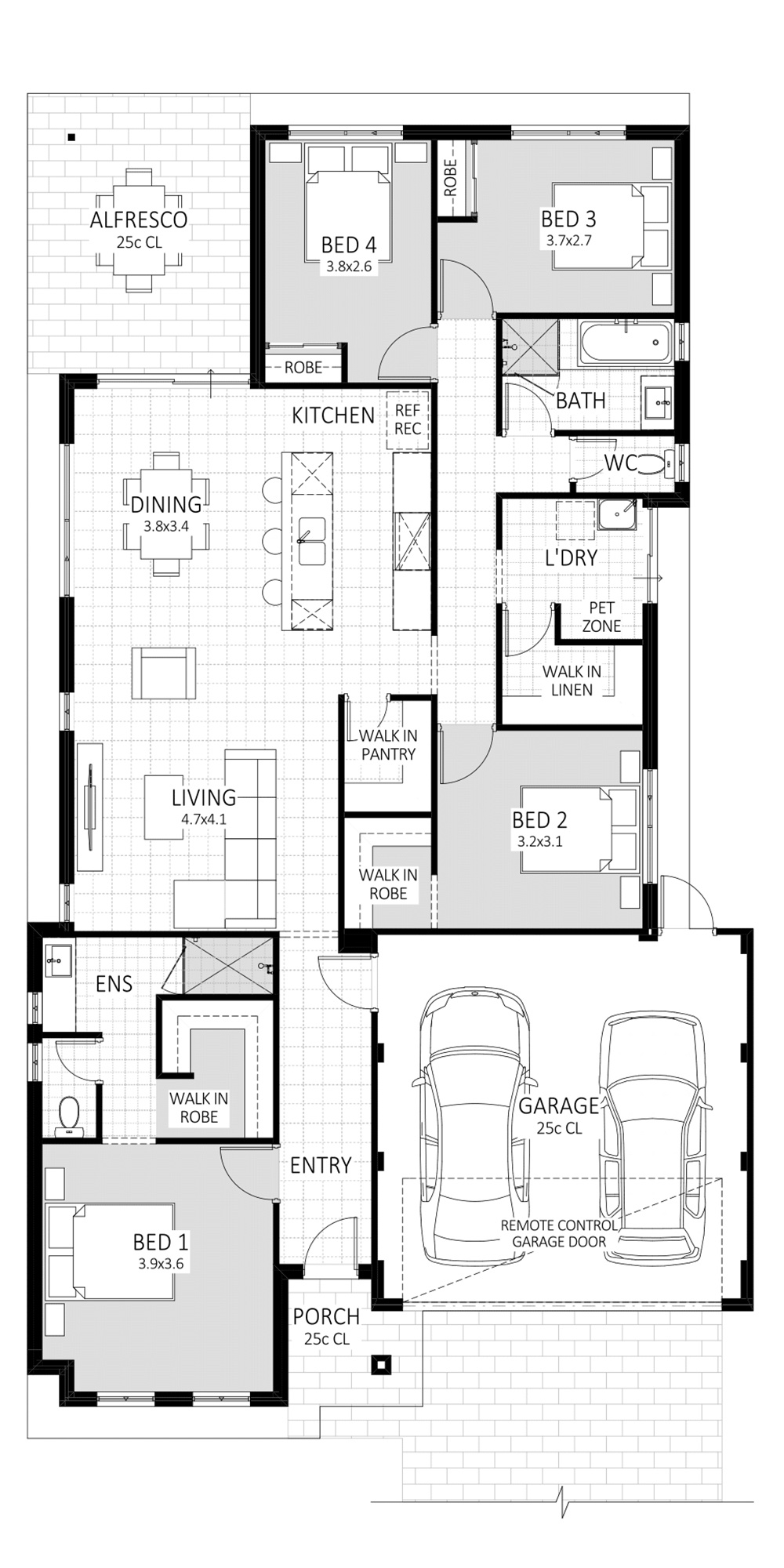 Revelation floorplan