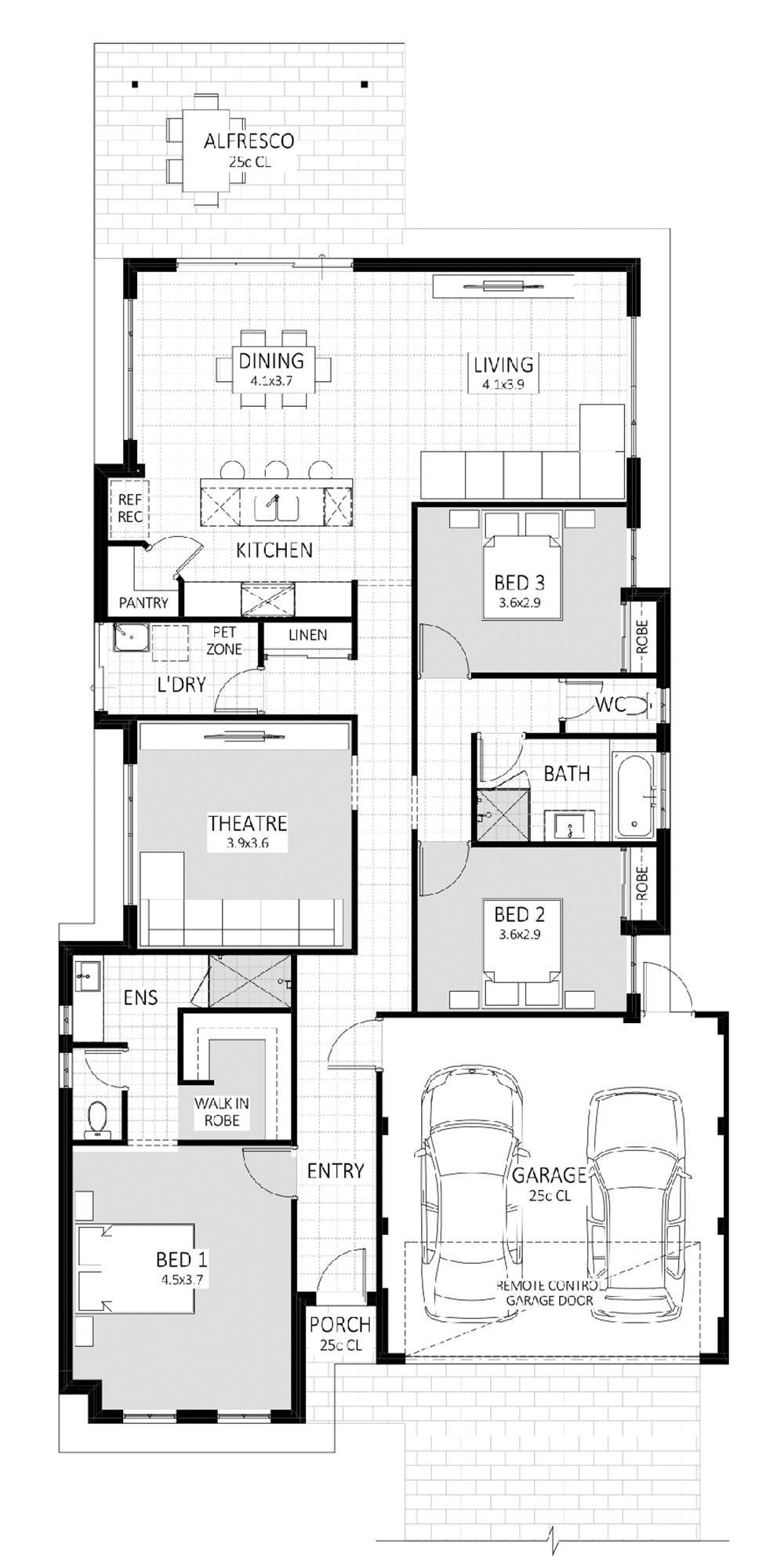 Vision floorplan